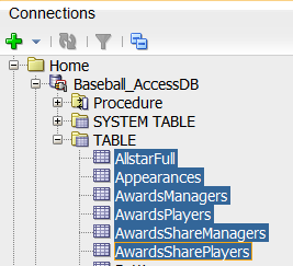 Open and Migrate Microsoft Access in Oracle SQL Developer 4  