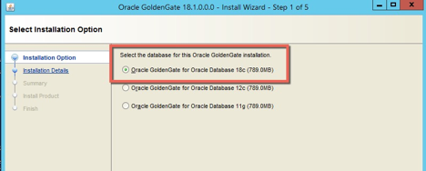 Installing Oracle GoldenGate 18c Microservices on Windows…  I know