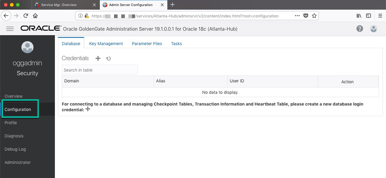 EZConnect Oracle GoldenGate to Oracle Database – On-Premise
